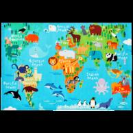 TORINO KIDS 233 WORLD MAP SZŐNYEG 80*120 cm