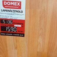 LAMINÁLT PADLÓ KRONO SELECTION CLICK 1611 BÜKK 6 mm 1590Ft/m2