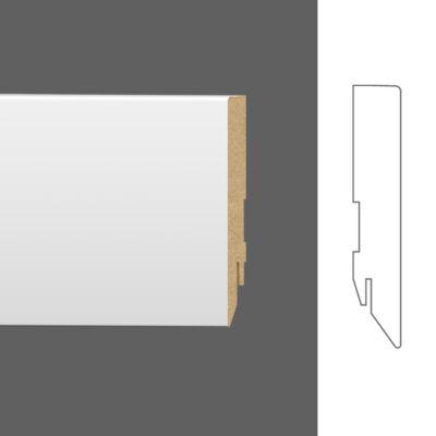 MDF FEHÉR SZEGÉLYLÉC BASIC 60x16mm
