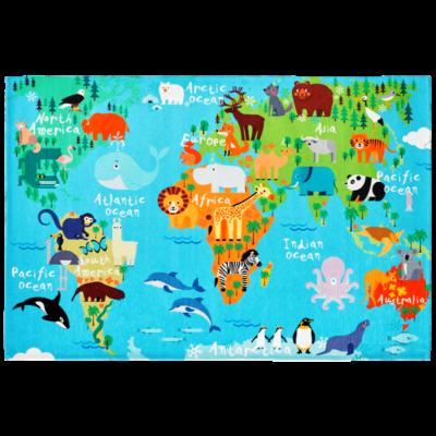 TORINO KIDS 233 WORLD MAP SZŐNYEG 160*230 cm