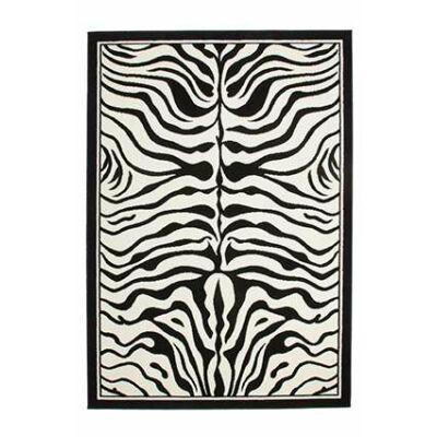 CONTEMPO 450 BLACK-WHITE SZŐNYEG 60*110 cm